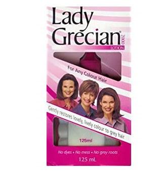 Lotion na kobiece włosy tracące barwę Lady Grecian 2000